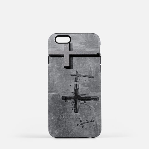 Stone Cross Cell Phone Case