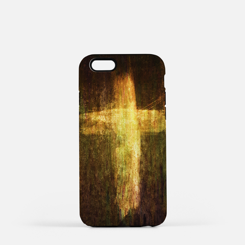 Cross of Fire Cell Phone Case