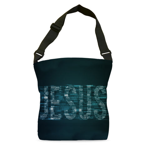 Jesus Compilation (Blue) Tote Bag