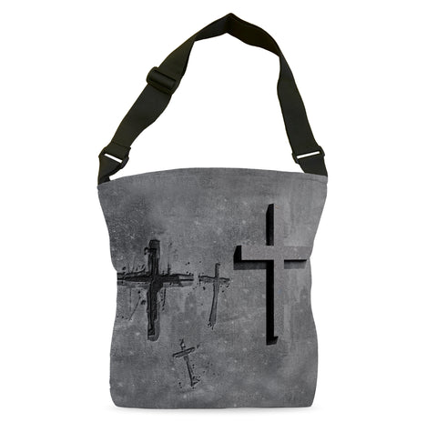 Stone Cross Tote Bag