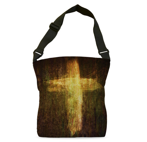 Cross of Fire Tote Bag