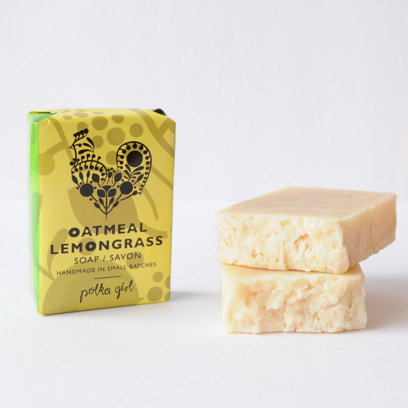 Oatmeal Lemongrass Soap