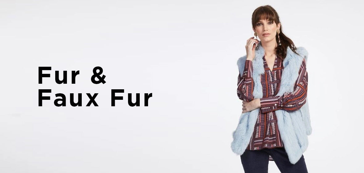 fur and faux fur