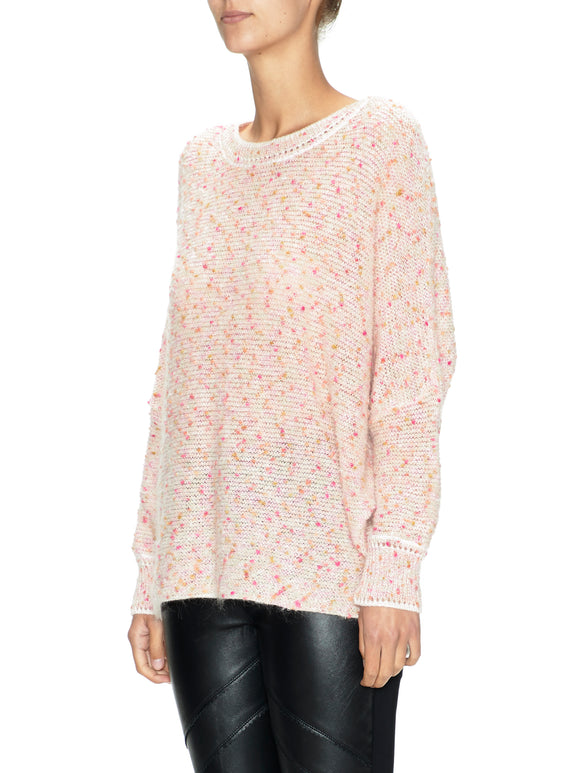 Confetti Fancy Knit Sweater | Shop Sabatini at Wallace and Gibbs NZ