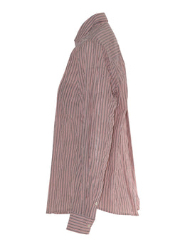 Sills Hamptons Stripe Shirt - Pink Stripe