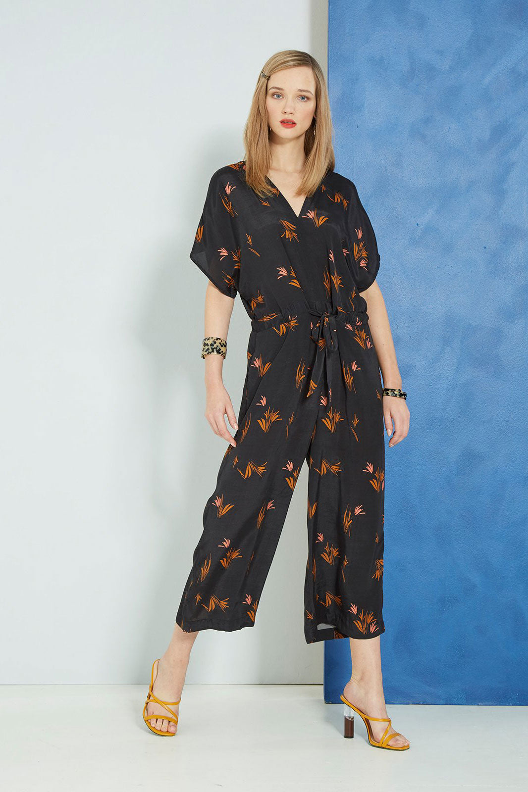 Sills Mary Reeds Jumpsuit Reeds Print