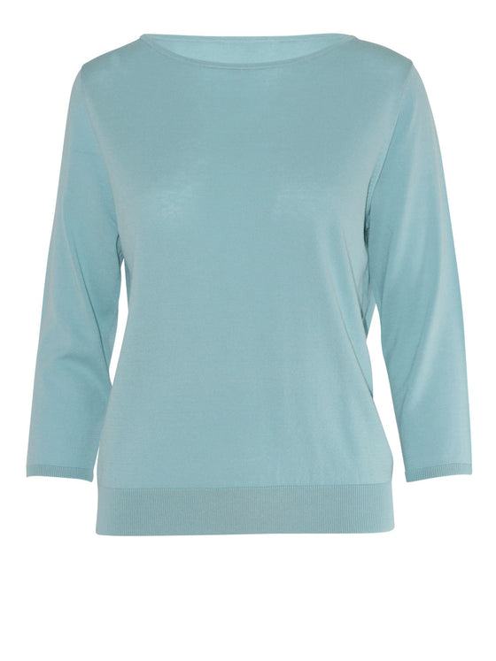 Sills Ramos Boatneck Top - Cool Mint