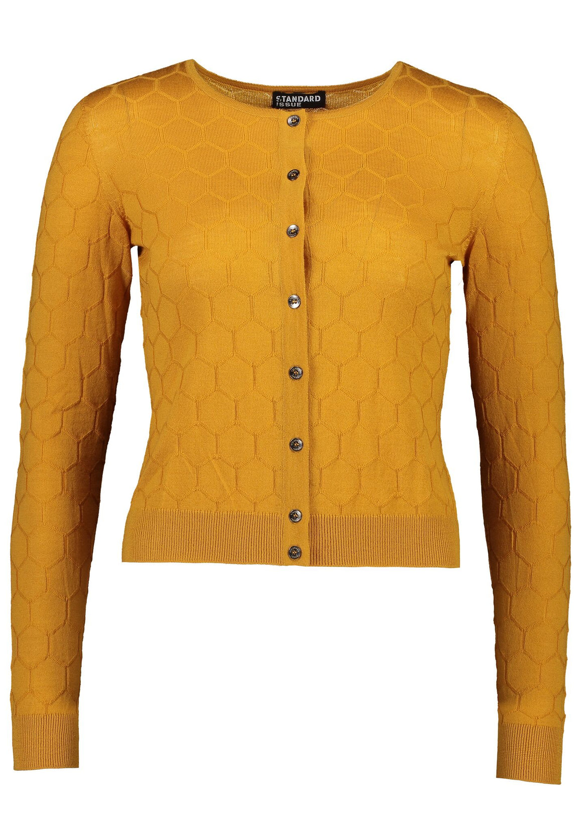 Standard Issue Honeycomb Cardi | Shop Online at Wallace & Gibbs NZ