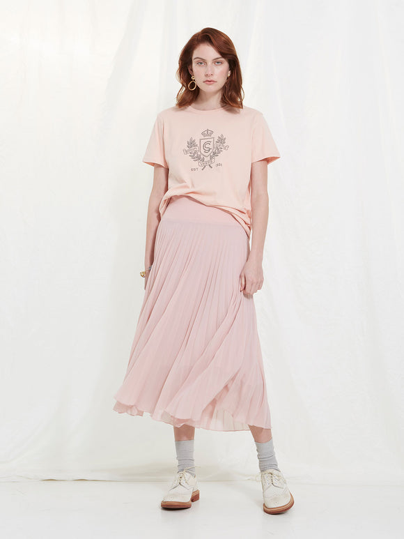Sills Shield Tee - Blush/Antique