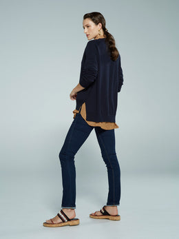 Sills Mirage Cardi - French Navy | Sills in NZ Wallace & Gibbs