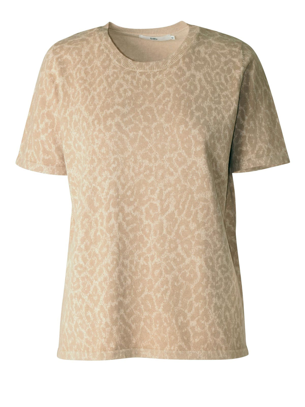 Sills Animal Knit Tee - Frappuccino | Sills in NZ Wallace & Gibbs