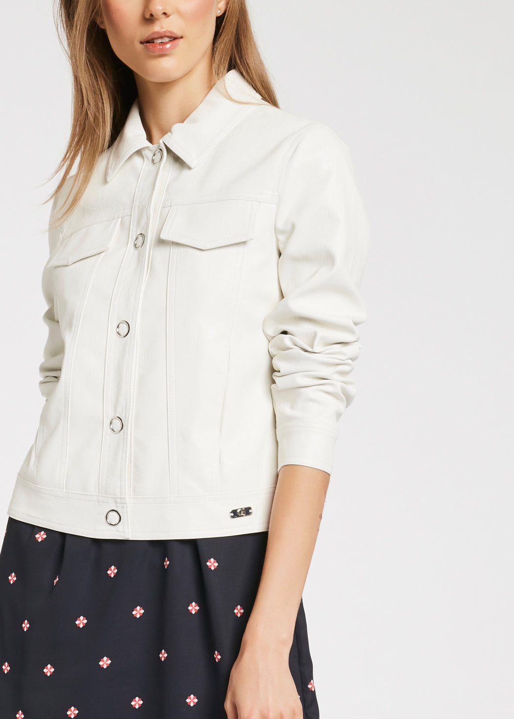Womens Jacket - White | Shop at Wallace and Gibbs NZ