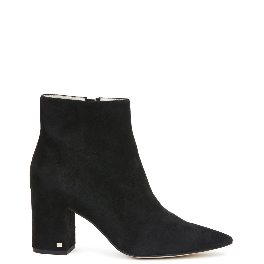 Bradshaw Suede Boot Black | Shop Kathryn Wilson at Wallace and Gibbs