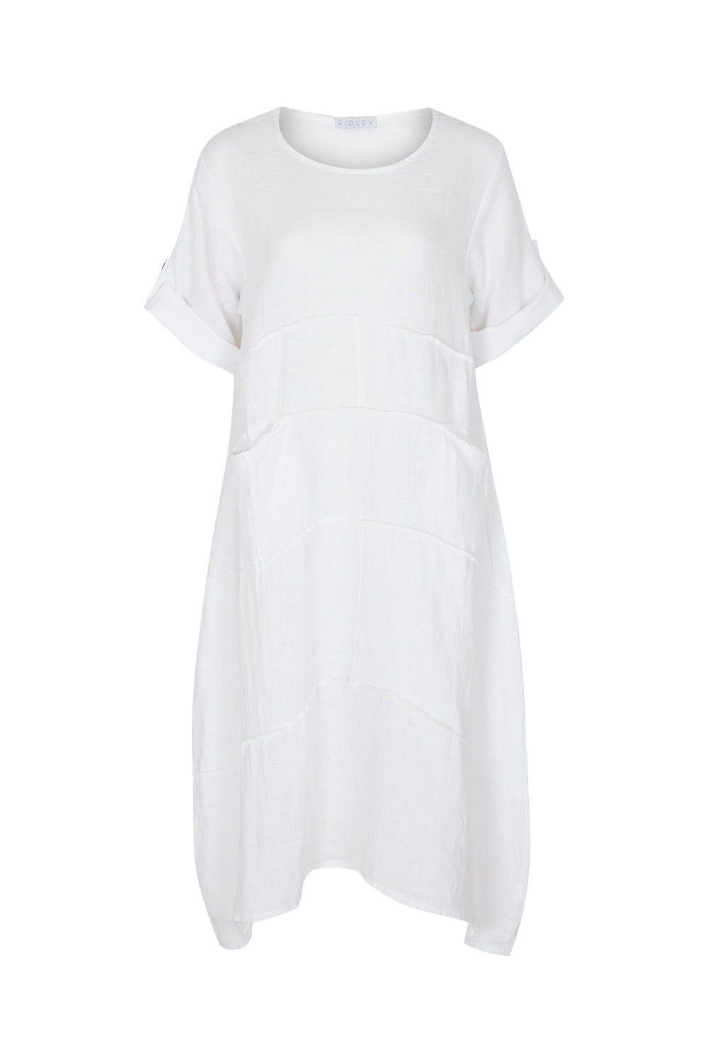 Come Together Dress - White | Ridley The Label at Wallace and Gibbs