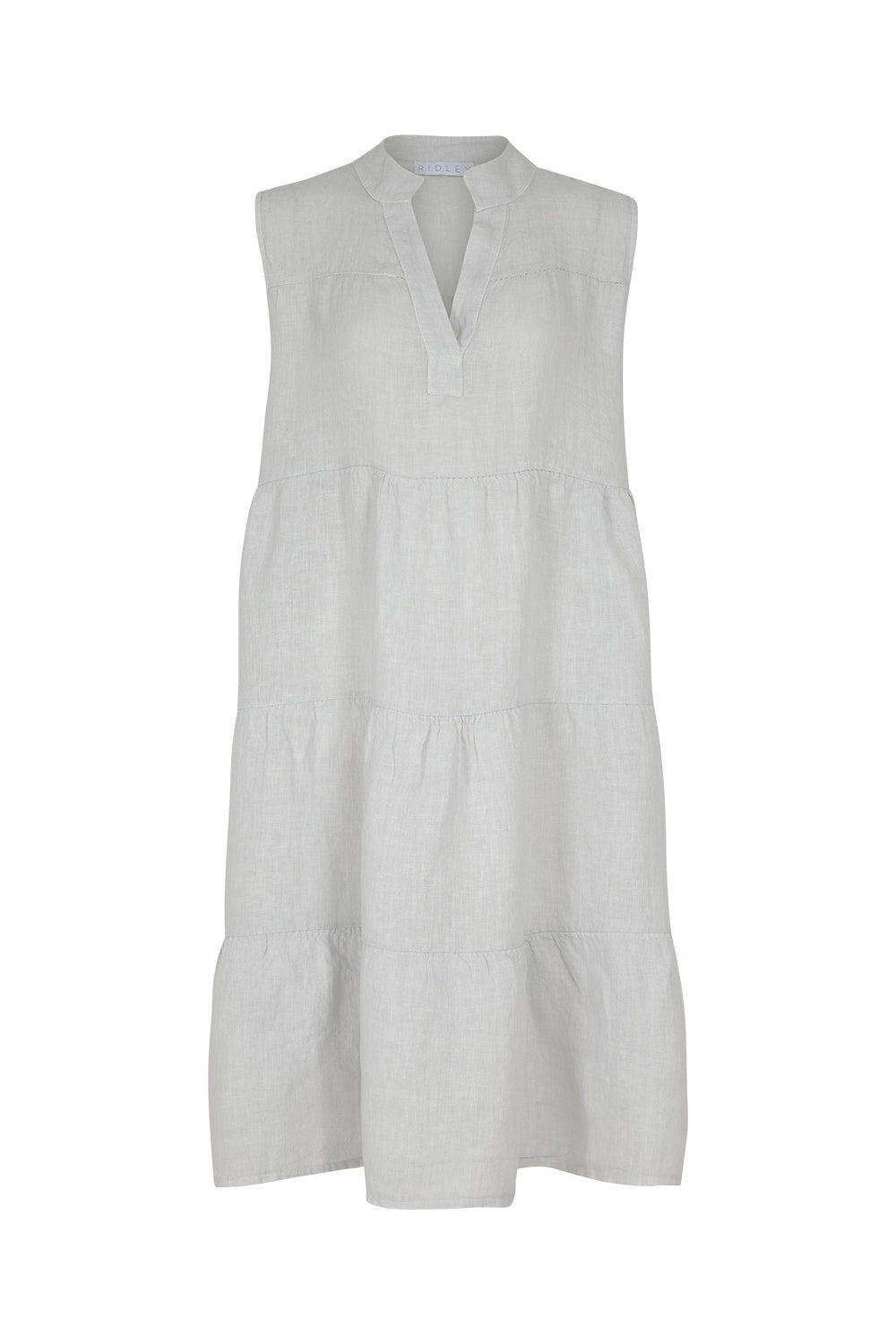 Reawaken Dress - Silver | Ridley The Label at Wallace and Gibbs