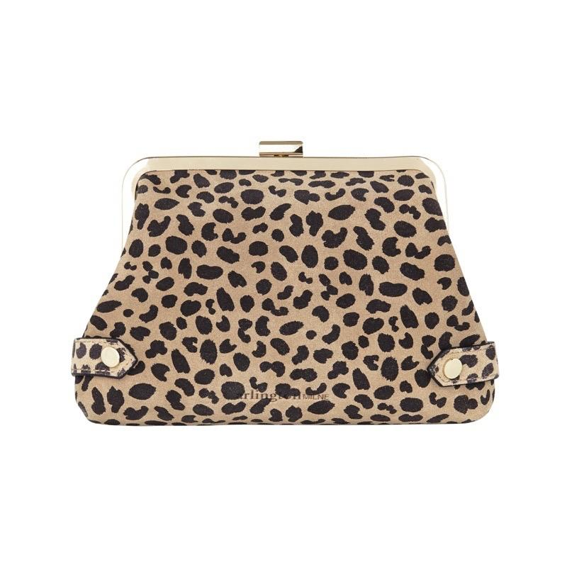 Lily Purse - Spot Suede | Shop Arlington Milne at Wallace and Gibbs