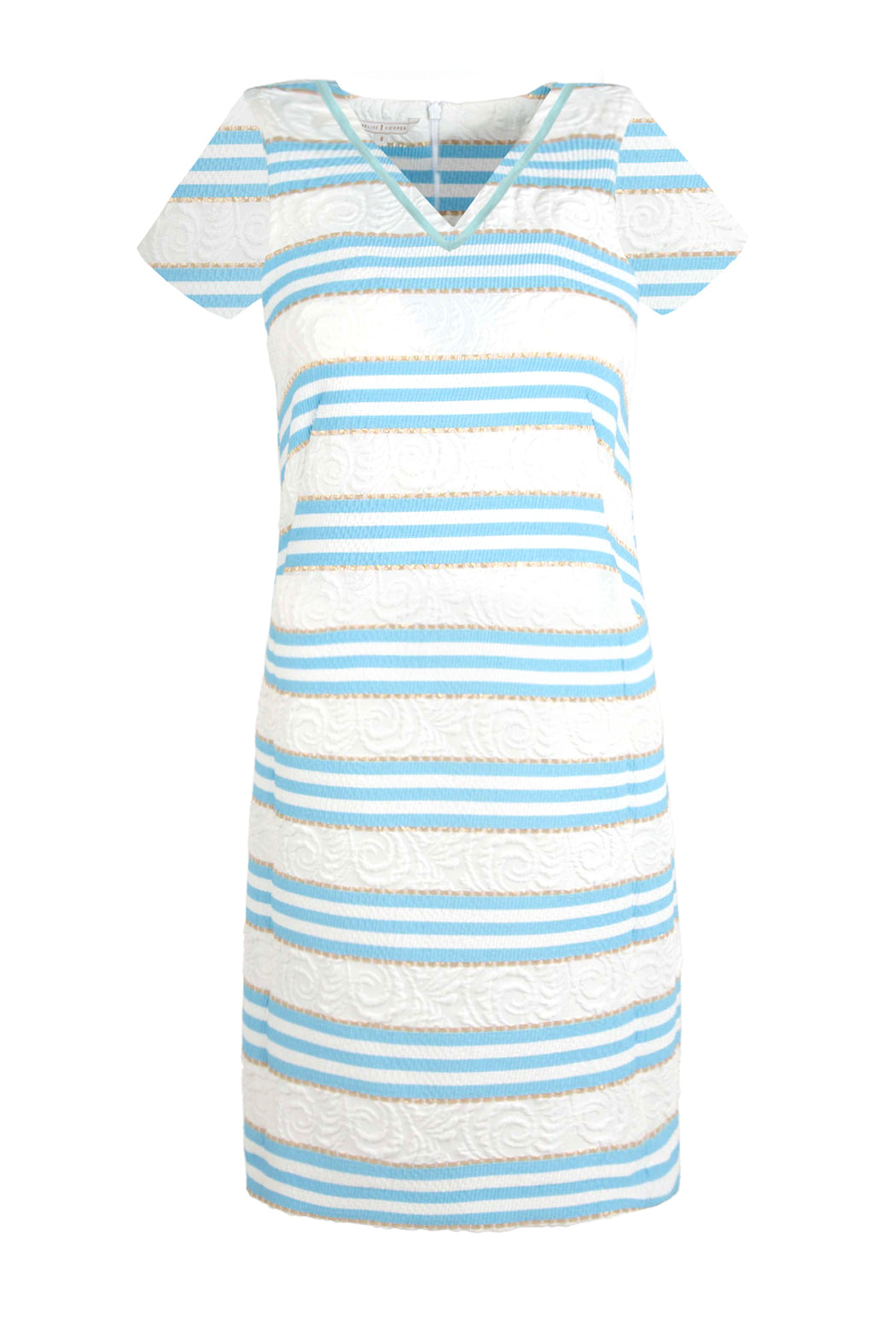 Trelise Cooper A Little Dress Conversation Dress - Blue  Stripe