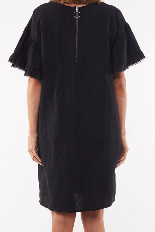 Foxwood Lagos Dress - Black | Shop Foxwood Wallace & Gibbs NZ
