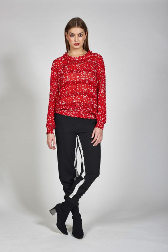 Ketz-ke Cha Cha Top - Red | Shop Ketz-ke online at Wallace & Gibbs NZ