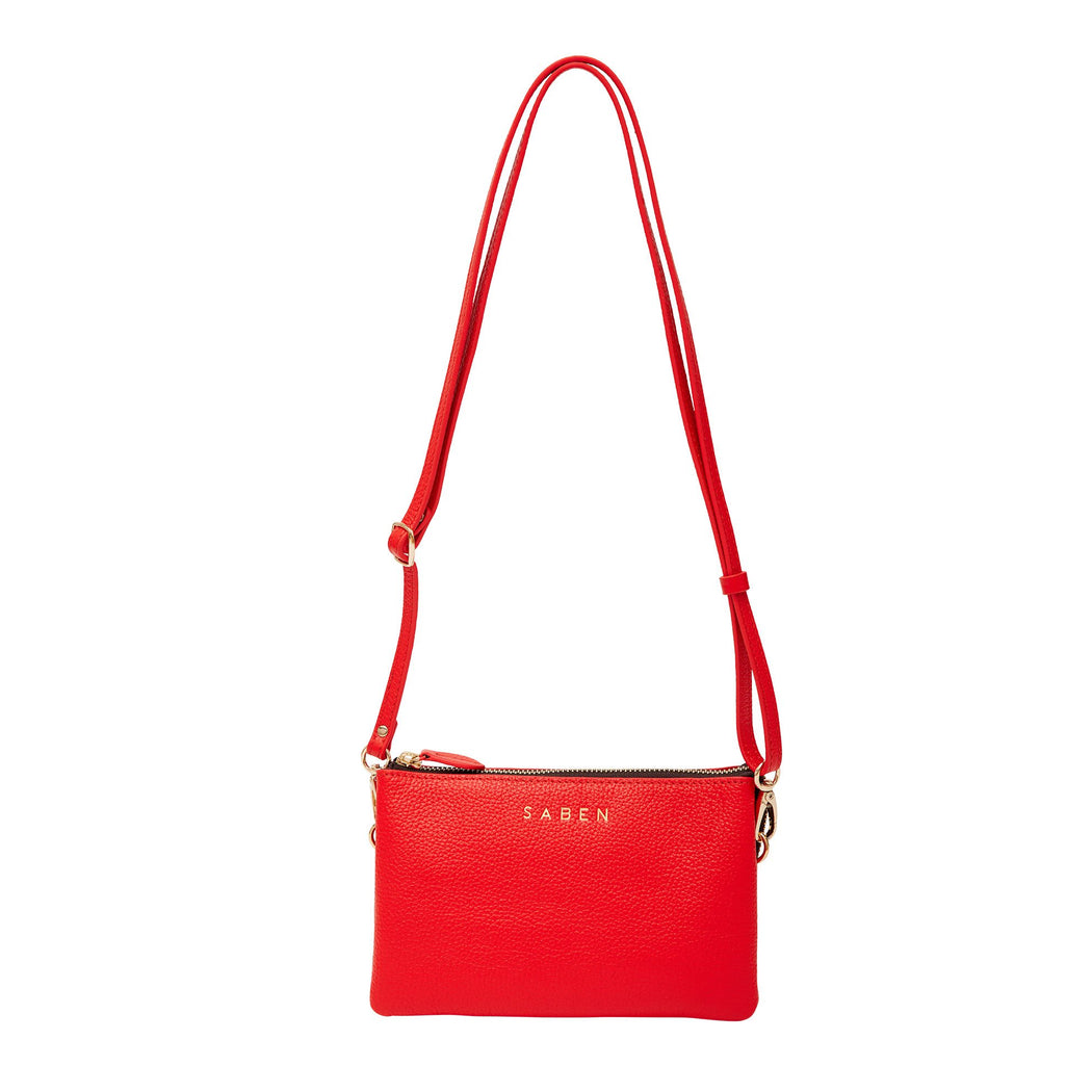 Tilly Crossbody - Scarlet | Shop at Wallace & Gibbs, Arrowtown NZ