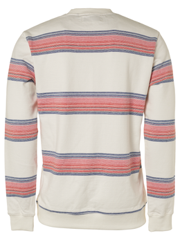 Mens Striped Crew Sweater | Shop No Excess at Wallace and Gibbs NZ