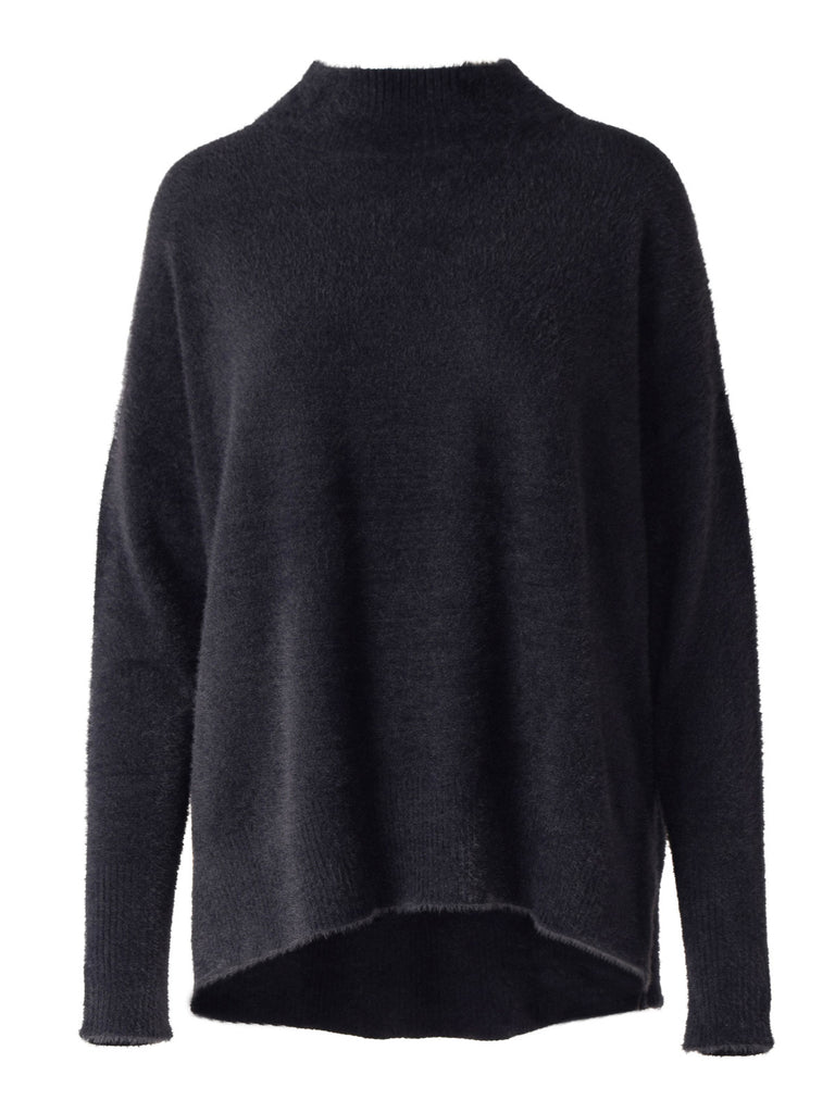 Clara Polo Sweater - Midnight | Buy Isaac & Lulu at Wallace and Gibbs