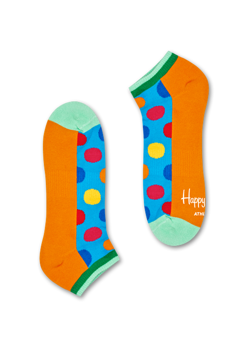 Athletic Big Dot Low Sock | Happy Socks at Wallace and Gibbs Arrowtown