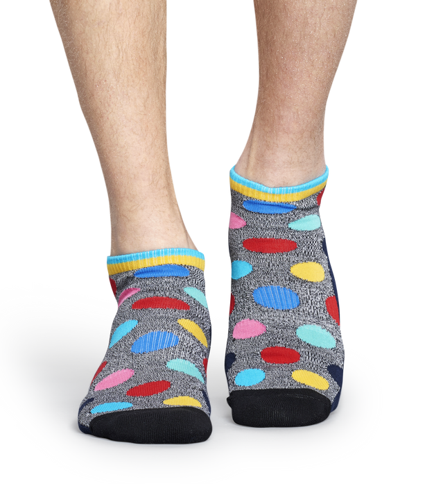 Athletic Big Dot Low Sock | Happy Socks at Wallace and Gibbs Arrowtown, NZ