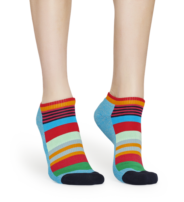 Athletic Multi Stripe Low Sock