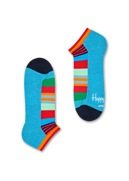 Athletic Multi Stripe Low Sock | Happy Socks at Wallace and Gibbs, NZ