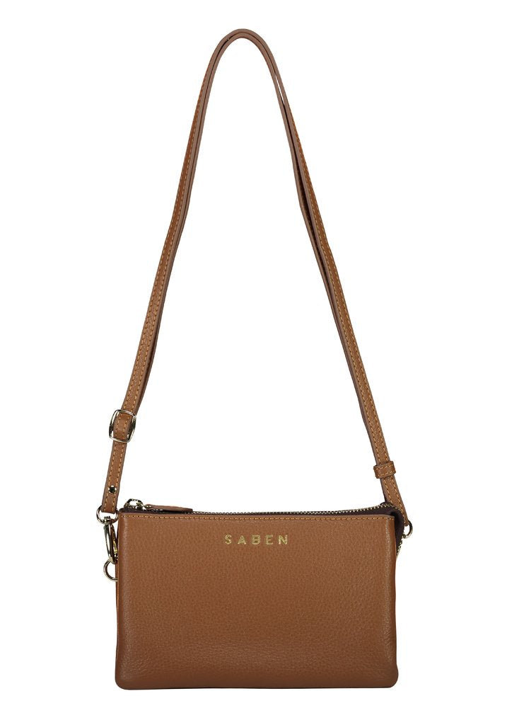 Tilly with Strap - Chestnut