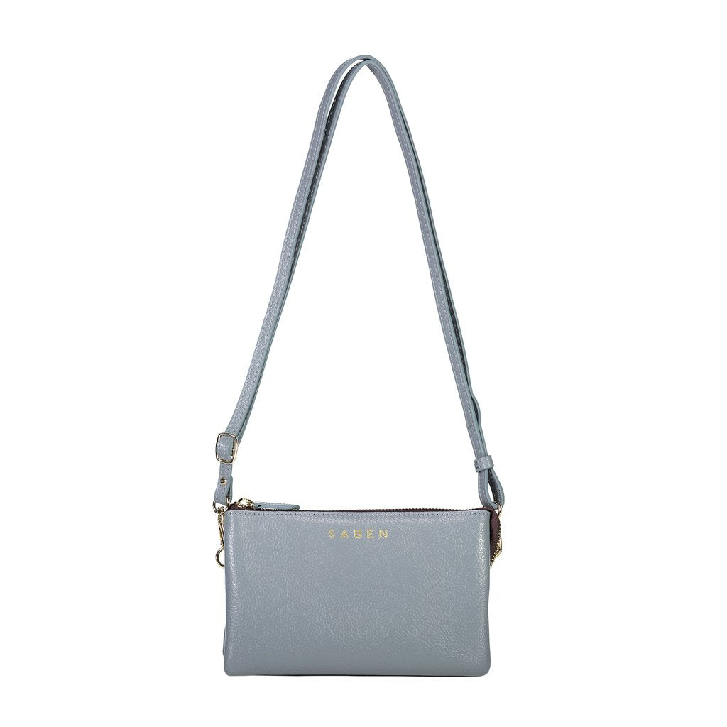 Tilly with Strap - Grey Blue | Shop Saben Online Wallace & Gibbs NZ