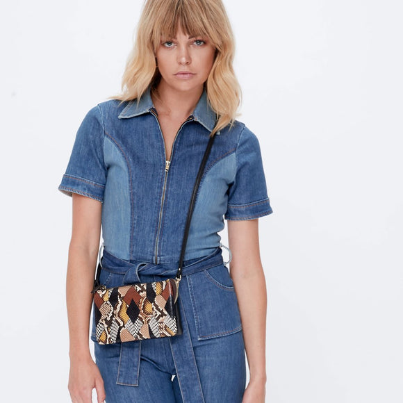 Tilly with Strap -Patchwork Python | Shop Saben Online Wallace & Gibbs