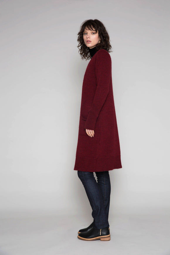 Standard Issue Alpaca Coat with Pockets