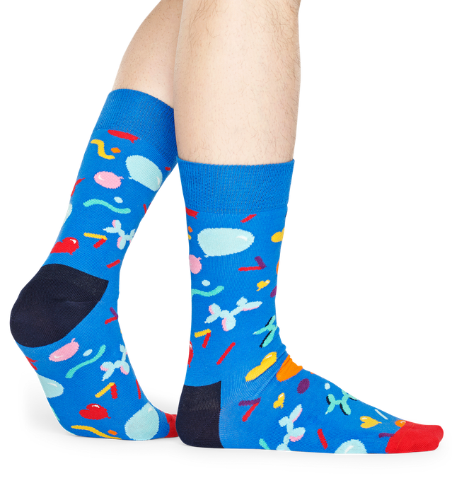 Balloon Animal Sock - Blue