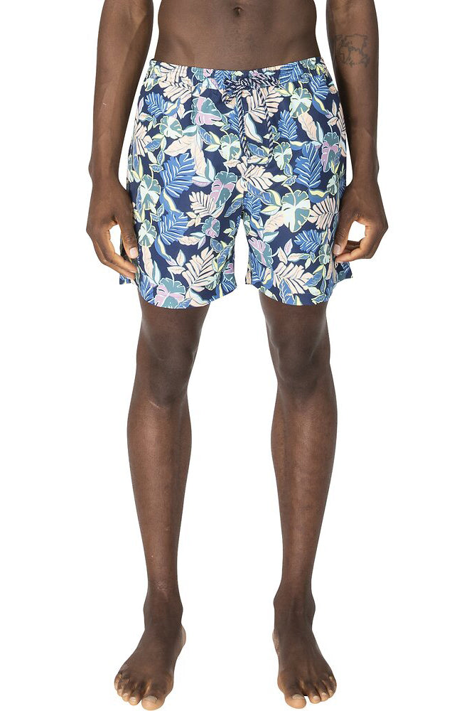 Mens Palm Leaf Swim Short | Shop Ben Sherman at Wallace and Gibbs NZ