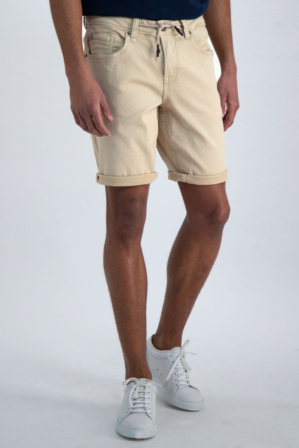 Mens Shorts - Beige | Shop Garcia at Wallace and Gibbs