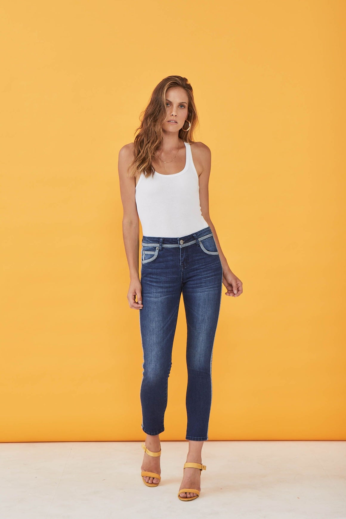 Shelton T Denim Jeans by New London