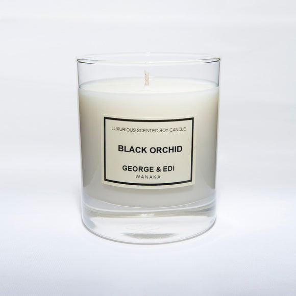 Candle - Black Orchid | Shop George & Edi at Wallace and Gibbs