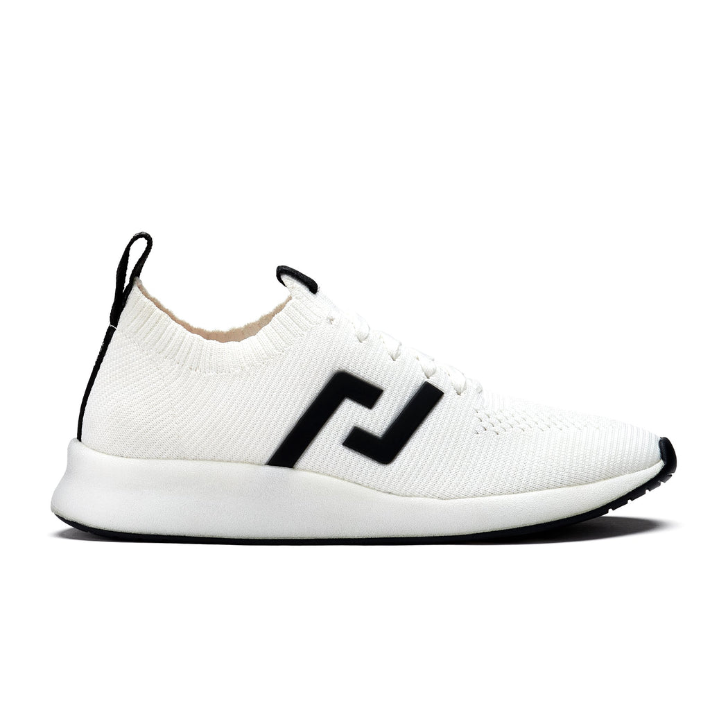 Rollie Bolt Sneaker - White | Shop Rollie Shoes at Wallace and Gibbs NZ