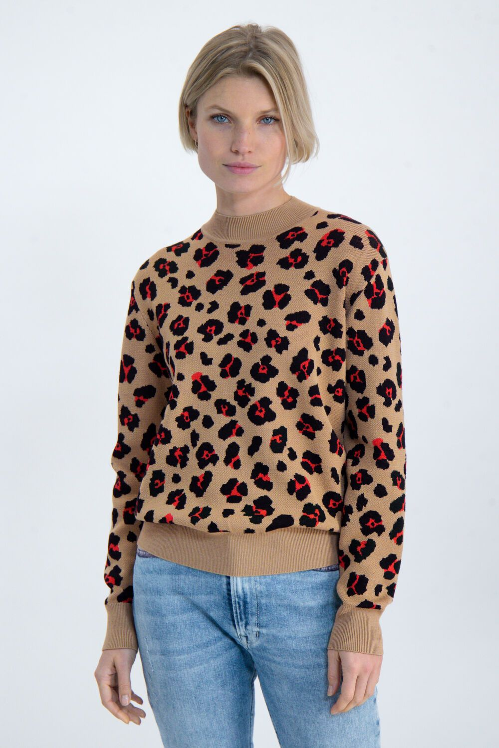 Womens Pullover - Safari | Shop Garcia at Wallace and Gibbs