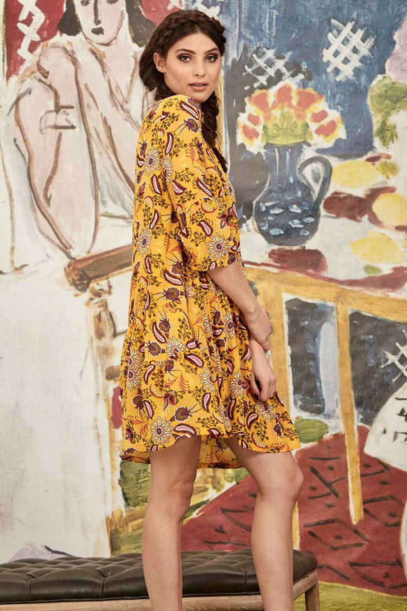 Love It Or Sleeve It Dress -Yellow | Shop Curate by Trelise Cooper W&G