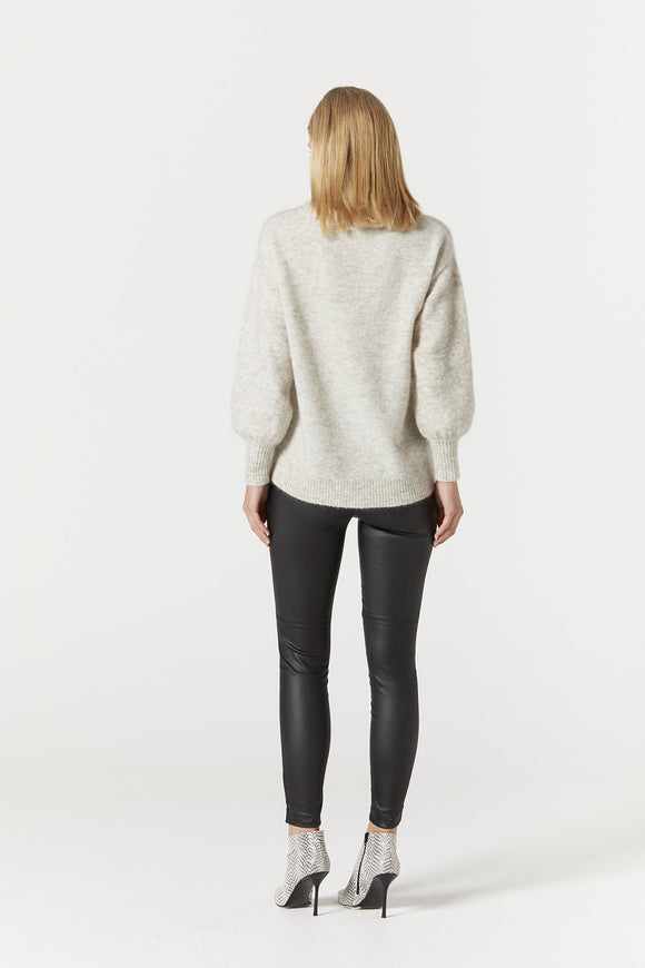 Cable Thea Jumper Oatmeal | Shop Cable at Wallace and Gibbs NZ