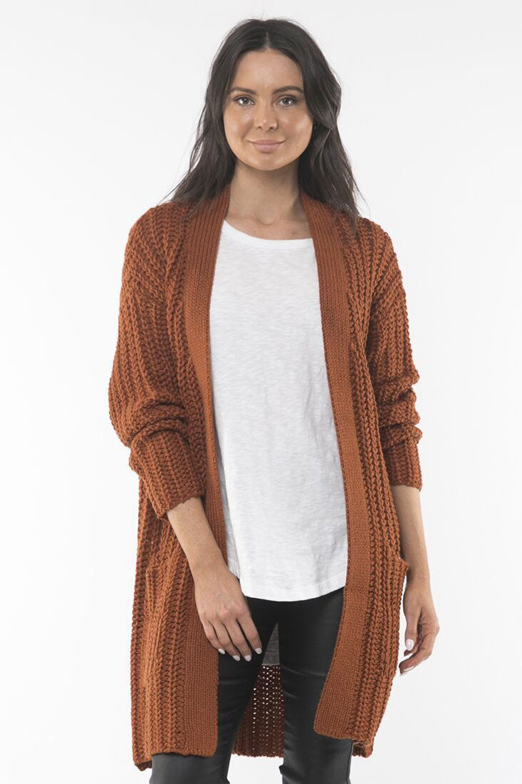 Foxwood Carvela Cardigan | Shop Foxwood Wallace & Gibbs Arrowtown NZ