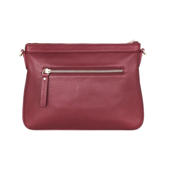 Coco Clutch Maroon | Shop Arlington Milne Wallace and Gibbs NZ
