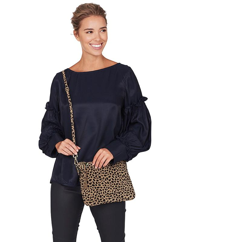 Coco Clutch Spot Suede | Shop Arlington Milne Wallace and Gibbs NZ