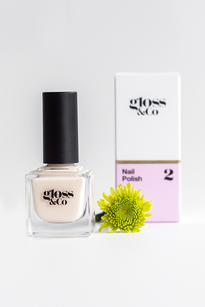 Gloss & Co Nail Polish - Creampuff