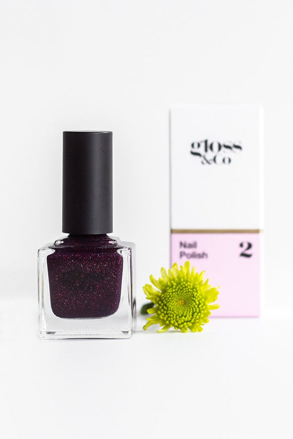 Gloss & Co Nail Polish - Dark Secrets