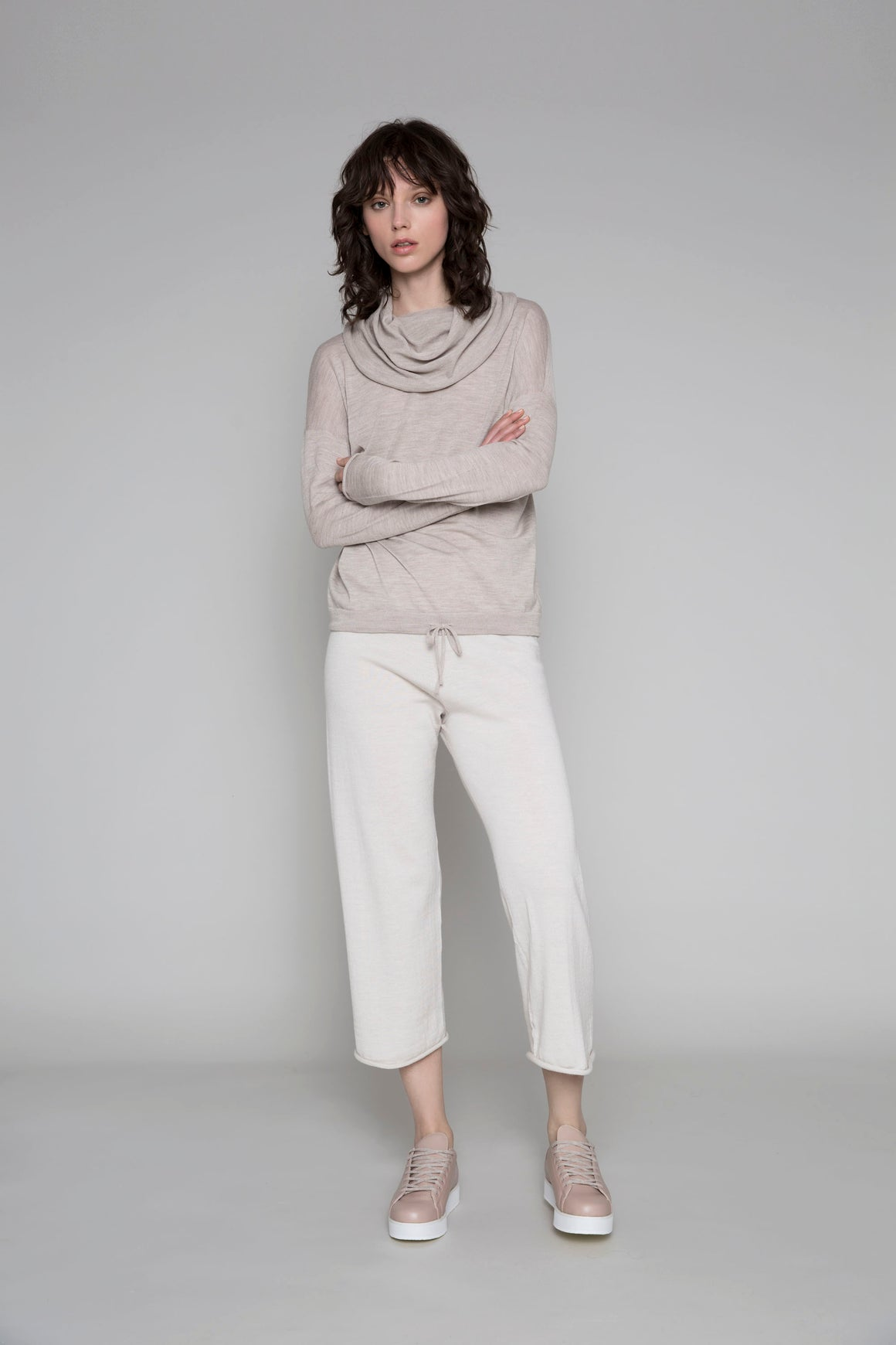 Standard Issue Drawstring Jumper - Cashew