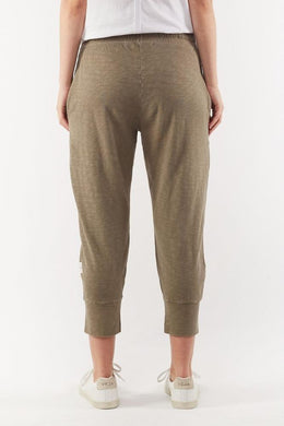 Elm Brunch Pant - Khaki | Shop Elm at Wallace & Gibb
